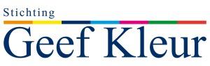 logo stichting geef kleur